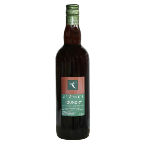 St Anne's Foundry Tawny is aged in old malt whiskey barrels for 8 years