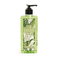 Lily of the Valley Hand Wash  500ml AAA -  Artesanales de Antigua Aromatherapy 500ml pump bottle of hand wash with lily of the valley design label