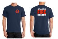 GRAHAM FIRE DEPT. STATION 95 TALL T-SHIRT