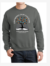 TSD GROWING OUR CULTURE CREWNECK SWEATSHIRT