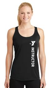 YMCA STAFF LADIES INSTRUCTOR DRIFIT RACERBACK TANK