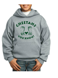 CHEETAHS TRACK CLUB YOUTH HOODED SWEATSHIRT