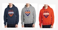 LAKES FOOTBALL HOODED SWEATSHIRT