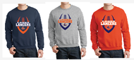 LAKES FOOTBALL FOOTBALL CREWNECK SWEATSHIRT