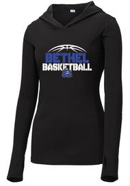 BETHEL MS GIRLS BASKETBALL LADIES HOODED DRI-FIT T-SHIRT