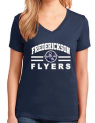 FREDERICKSON ELEMENTARY LADIES V-NECK T-SHIRT