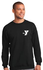 YMCA STAFF CREWNECK SWEATSHIRT