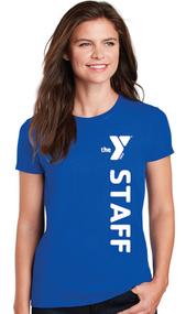 YMCA STAFF LADIES T-SHIRT