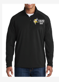 PUYALLUP CHEER PARENT/FAN  MENS SPORT WICK STRETCH 1/2 ZIP PULLOVER