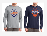 LAKES  FOOTBALL DRIFIT LONGSLEEVE T-SHIRT