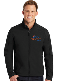 CRESCENT REALTY CORE SOFT SHELL JACKET
