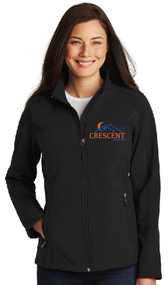 CRESCENT REALTY LADIES CORE SOFT SHELL JACKET