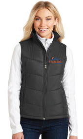 CRESCENT REALTY LADIES  PUFFY VEST