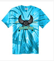 AUBURN RIVERSIDE 25 YEARS TIE DYE T-SHIRT