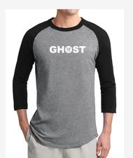 GHOST 3/4 SLEEVE T-SHIRT