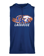 GK HS LACROSSE SLEEVELESS HOODED DRIFIT T-SHIRT