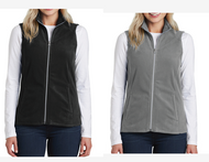 PARK LODGE STAFF LADIES MICRO FLEECE VEST