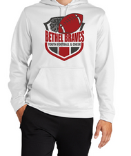 BETHEL YOUTH FOOTBALL  DRIFIT HOODED SWEATSHIRT