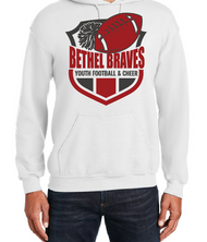 BETHEL YOUTH FOOTBALL HOODED SWEATSHIRT