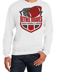BETHEL YOUTH FOOTBALL CREWNECK SWEATSHIRT