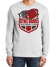 BETHEL YOUTH FOOTBALL LONGSLEEVE T-SHIRT