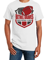 BETHEL YOUTH FOOTBALL VOLLEYBALL T-SHIRT