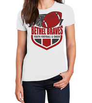 BETHEL YOUTH FOOTBALL  LADIES T-SHIRT