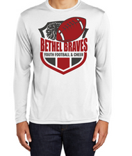 BETHEL YOUTH FOOTBALL DRIFIT LONGSLEEVE T-SHIRT