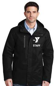 YMCA CHILD CARE STAFF MENS ALL CONDITIONS JACKET