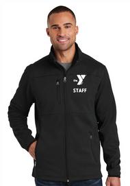 YMCA CHILD CARE STAFF MENS PIQUE FLEECE JACKET