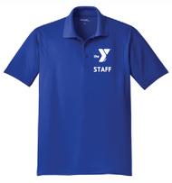 YMCA CHILD CARE STAFF MENS SPORT-WICK POLO