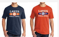 LAKES VOLLEYBALL T-SHIRT