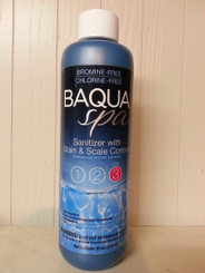 BaquaSpa Sanitizer with Stain & Scale Control, 1 pt