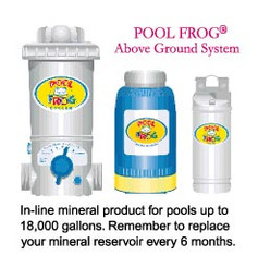 Preseason Pack age for Above Ground (6100) Frog Systems