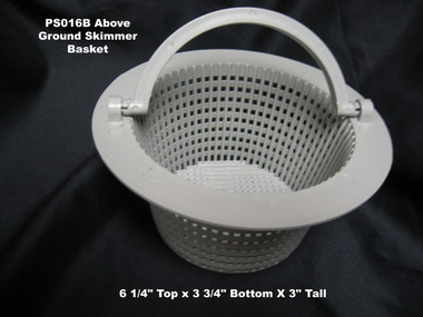 Basket for PoolStyle Wide-Mouth Skimmer, Above Ground (PS016B)