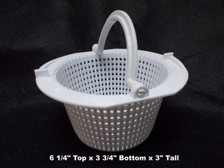 Locking Basket for Above Ground Skimmer, White (199120B)