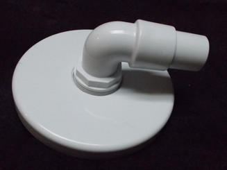 Vacuum Plate for Above Ground Skimmer, with Elbow (199121)