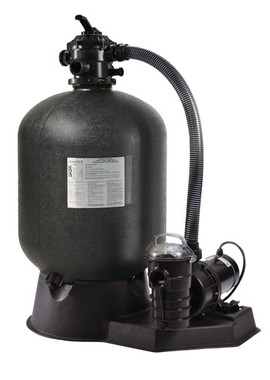 "24"" Pentair Cristal-Flo II Sand Filter with 1 1/2 hp Pump (SRCF2022DO1160)"