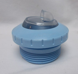 Threaded Return, Downjet, Light Blue (004-252-3032-06)
