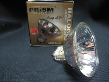 MR16 QUARTZ BULB, 75 WATT, 12 VOLT, 2 PIN (MR16EYC/SC)