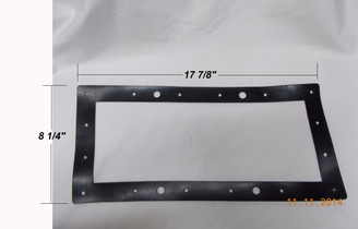 "Hayward Widemouth Skimmer Face Plate Rubber Gasket 18"" Wide (SPX1085-D)"