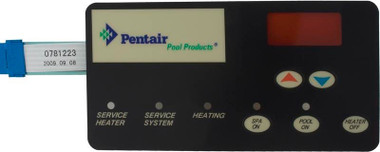 Switch Membrane Replacement for Pentair or Sta-Rite Pool Heater (472610Z)