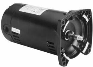 2 HP Square Flange Pump Motor, Full Rated (SQ1202)