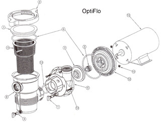 Pentair Optiflo Pump Parts