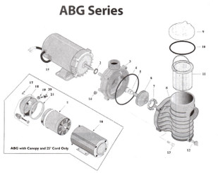 Sta-Rite ABG Pump Parts