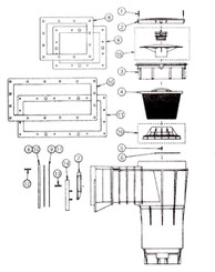 PENTAIR BERMUDA SKIMMER PARTS