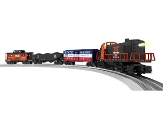 6-84709 O Scale Lionel New Haven RS-3 LionChief Freight Set