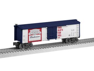 6-85248 O Scale Lionel Budweiser Reefer