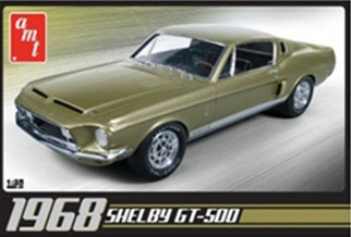 AMT634 AMT 1968 Shelby GT-500 1/25 Scale Plastic Model Kit