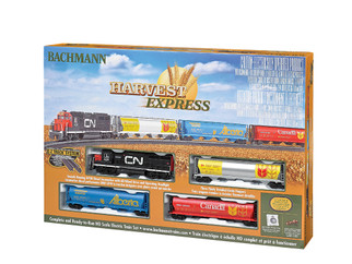 00735 HO Scale Bachmann Harvest Express Train Set